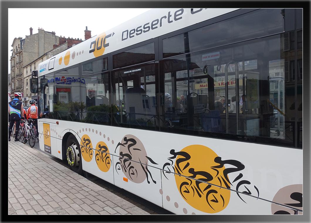 D co bus tour de france chantilly keolis studio - Deco tour de france ...